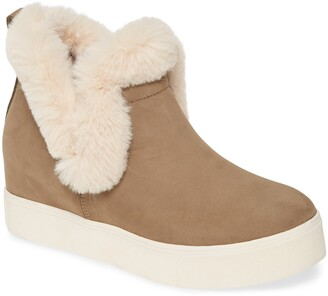 J/Slides Faux Fur Lined Bootie