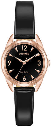 DRIVE FROM CITIZEN ECO-DRIVE Drive from Citizen Assortment Womens Black Strap Watch-Em0688-01e
