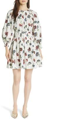 Ulla Johnson Joelle Floral Print Dress