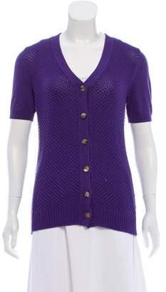 Loro Piana Silk-Blend Knit Cardigan