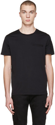 Burberry Black Fayden T-Shirt $225 thestylecure.com