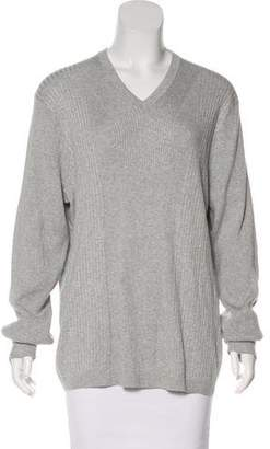 Calvin Klein Long Sleeve Rib Knit Top w/ Tags
