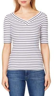Esprit Short Sleeve Striped Tee