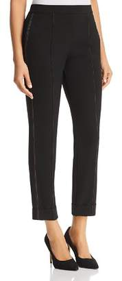 Donna Karan Seamed Skinny Ankle Pants