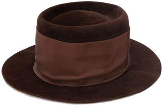 Valentino Pre-Owned felted fedora hat