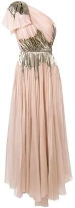Maria Lucia Hohan one-shoulder silk Rasha dress
