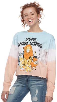 Disney Disney's The Lion King Juniors' Cropped Graphic Tee