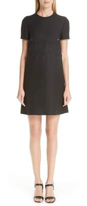 Valentino Scallop Detail Dress