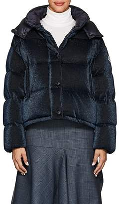 Moncler Women's Caille Metallic Puffer Coat