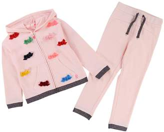 Billieblush Girls Bow Hoody & Jogger Outfit