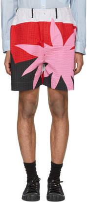 Craig Green Multicolor Acid Desert Island Elasticized Shorts