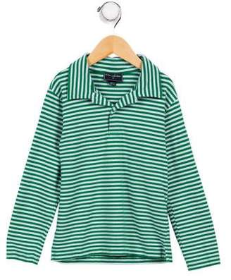 Oscar de la Renta Boys' Striped Shirt