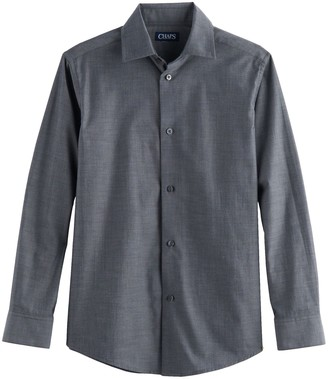 Chaps Boys 4-20 Stretch Button-Down Shirt