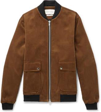 Oliver Spencer Bermondsey Cotton-Corduroy Bomber Jacket