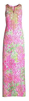 Lilly Pulitzer Women's Carlotta Floral Maxi Dress
