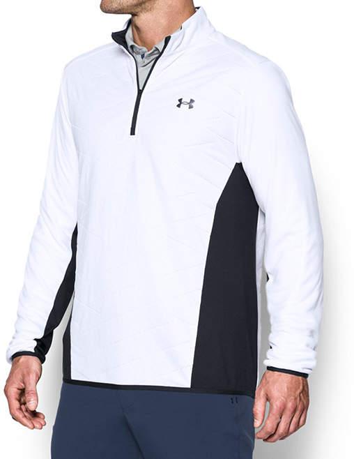 White Reactor Hybrid Half-Zip Pullover - Men, Big & Tall