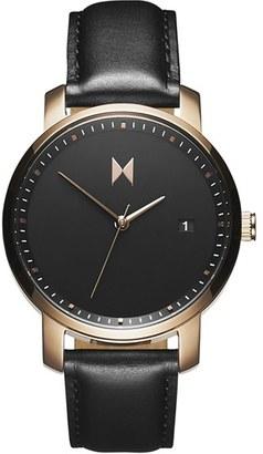 Women's Mvmt Leather Strap Watch, 38Mm $115 thestylecure.com