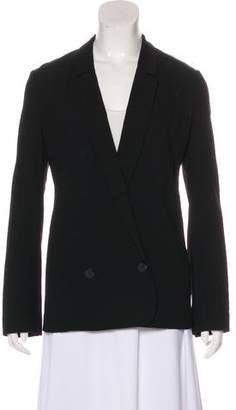 Halston Notch-Lapel Woven Blazer w/ Tags