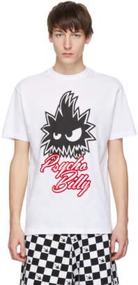 McQ White Psycho Billy T-Shirt