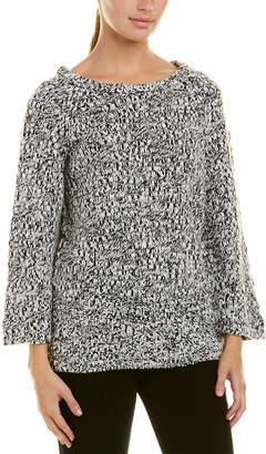 Cheap Monday Cutout Back Wool-Blend Sweater