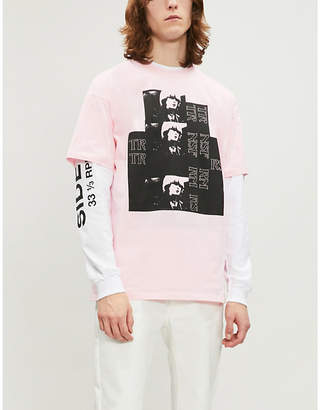 Raf Simons Toyah graphic-print cotton-jersey T-shirt