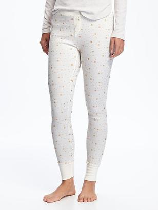 Patterned Thermal Leggings for Women $19.94 thestylecure.com