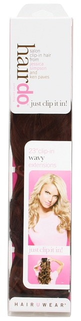 Hairdo. by Jessica Simpson & Ken Paves 23 Clip-in Extension -Wavy (Ginger Blonde) - Accessories