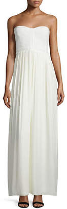 Parker Bayou Strapless Sweetheart-Neck Gown $298 thestylecure.com