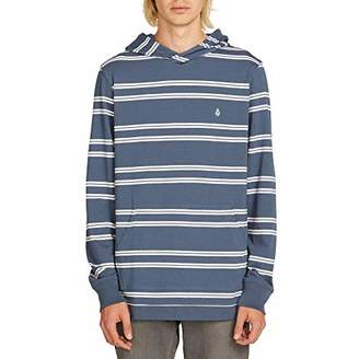 Volcom Men's Beauville Long Sleeve Hooded Shirt