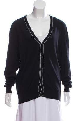 Michael Kors Long Sleeve V-Neck Cardigan