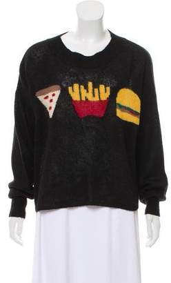Wildfox Couture Graphic Knit Sweater