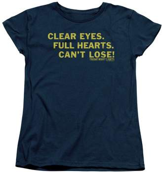 Friday Night Lights Teen Sports Drama Series Can't Lose! Women's T-Shirt Tee