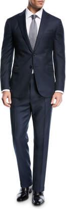 Ralph Lauren Textured Birdseye-Knit Two-Piece Suit
