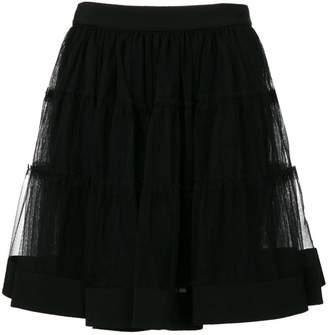 Moschino tulle mini skirt