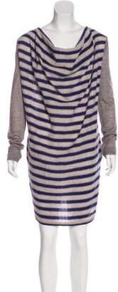 Hache Striped Shift Dress