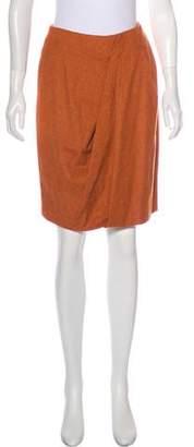 Max Mara Draped Pencil Skirt