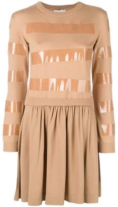 Moschino tape detail jumper dress