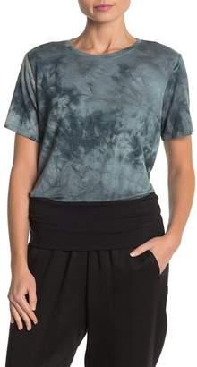 DKNY Tie Dye Crew Neck T-Shirt