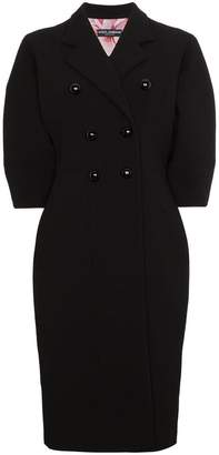 Dolce & Gabbana Double Breasted Bell Sleeve Coat