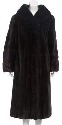 Fur Mink Long Coat
