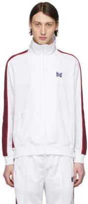 Needles White Jersey Track Jacket