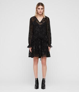AllSaints Alia Flora Dress