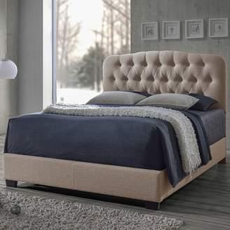 Red Barrel Studio Carnegie Upholstered Panel Bed