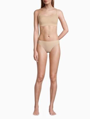 Calvin Klein invisibles removable pad retro bralette