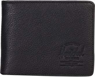 Herschel Supply Hank Leather RFID Bi-Fold Wallet