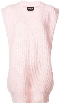 Calvin Klein V-neck knitted top