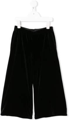 John Richmond Junior back zip flared trousers