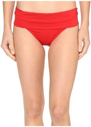 Jantzen Solids Shirred Waist Bottom Women's Swimwear