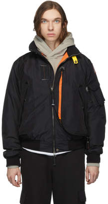 Parajumpers Black Down Masterpiece Fire Jacket