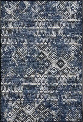 Blue Area World Menagerie Basham Azure Rug World Menagerie